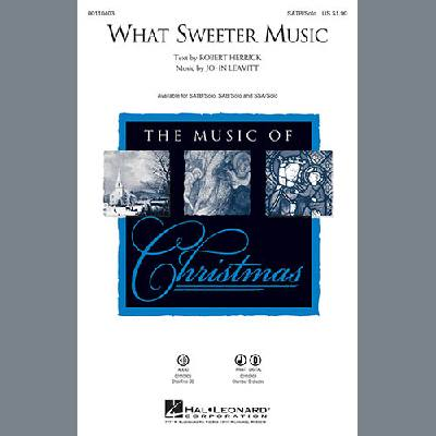 What Sweeter Music John Leavitt