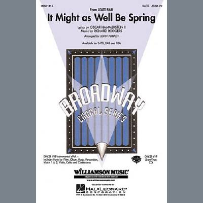 It Might As Well Be Spring (arr. John Purifoy)