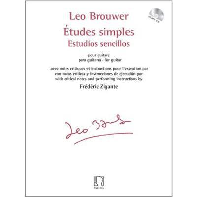 Etudes Simples Estudios Sencillos Inkl Cd