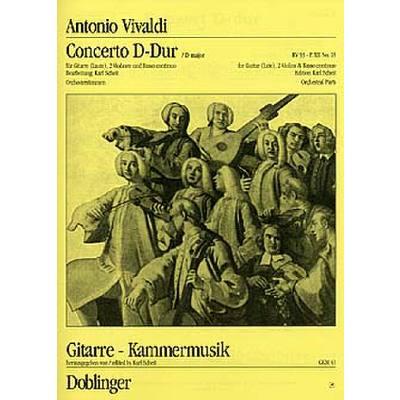 Concerto D Dur RV 93