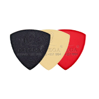 ORTEGA Filz Picks 4mm hart 3er Pack