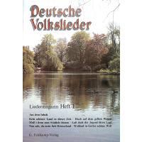 Liedermagazin 1 - deutsche Volkslieder
