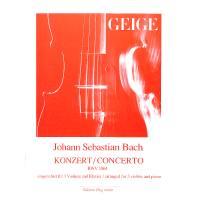 KONZERT D-DUR NACH BWV 1064