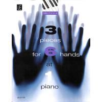 3 pieces for 6 hands at 1 piano