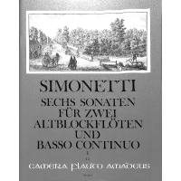 6 Sonaten 1 (1-3) op 2