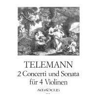 2 Konzerte + Sonate G-Dur