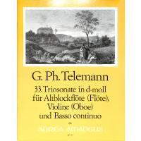 Triosonate 33 d-moll TWV 42:D7