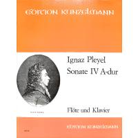 Sonate 4 A-Dur