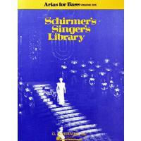 Arias 1 (Schirmers singers library)