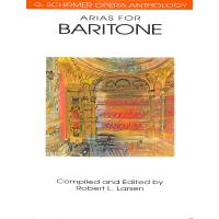 Arias for baritone (new anthology)