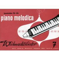 Melodica Spielheft 7 - Weihnachten