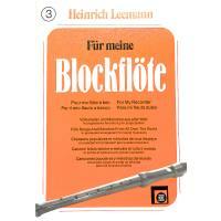 FUER MEINE BLOCKFLOETE 3