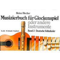 Musizierbuch 2 deutsche Volkslieder
