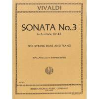 Sonate 3 a-moll RV 43