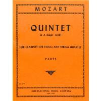 QUINTETT A-DUR KV 581