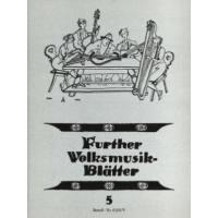 Further Volksmusik Blätter 5