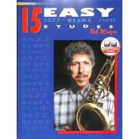 15 easy Jazz Blues + Funk Etudes