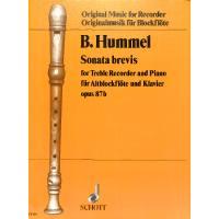 Sonate brevis op 87b