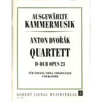 Quartett 1 D-Dur op 23