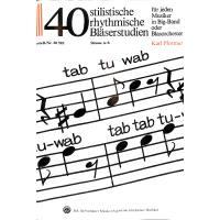 TAB TU WAB - 40 STILISTISCHE RHYTHMISCHE