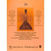 20 russische Volkslieder