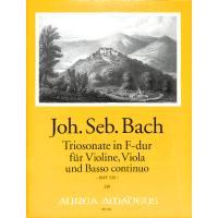 Triosonate F-Dur BWV 530