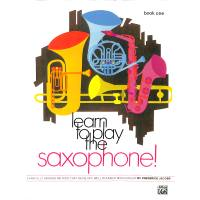 Learn to play saxophone 1