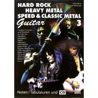 Hard rock heavy metal 3 speed + classic metal 3