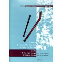 Duette - 4 russische Lieder + 4 Negro Spirituals
