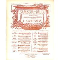 VOIS MA MISERE HELAS (SAMSON + DALILA)