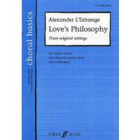 LOVE'S PHILOSOPHY - 3 ORIGINAL SETTINGS