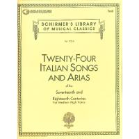 24 italian songs + arias