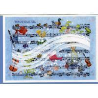 Doppelkarte Wassermusik