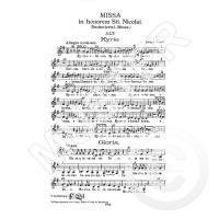 Missa in honorem St Nicolai G-Dur Hob 22/6 (Nicolaimesse)