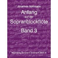 Anfang auf der Sopranblockflöte 3