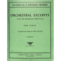 Orchestral excerpts 4