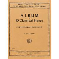 Album of 10 classical pieces