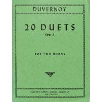 20 Duette op 3