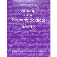 Anfang auf der Sopranblockflöte 2