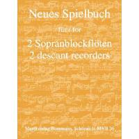 Neues Spielbuch für 2 Sopranblockflöten