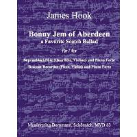 BONNY JEM OF ABERDEEN - A FAVORITE SCOTCH BALLAD