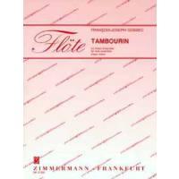 Tambourin für Flötenensemble
