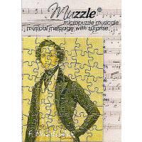 Muzzle - Mini Puzzle Postkarte