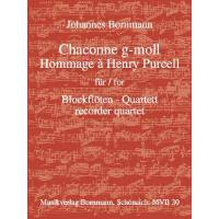 CHACONNE G-MOLL HOMMAGE A HENRY PURCELL