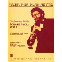 Sonate f-moll op 4