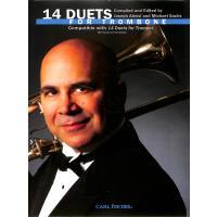 14 DUETS FOR TROMBONE - COMPATIBLE WITH 14 DUETS FOR TRUMPET