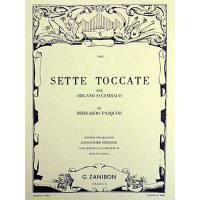 7 TOCCATAS - SETTE TOCCATE