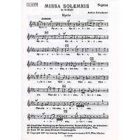 Missa solemnis b-moll