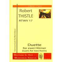 DUETTE FUER 2 HOERNER RTWV 17