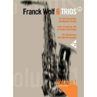 6 TRIOS FOR ALTO SAX AND RHYTHM SECTION VOL 1